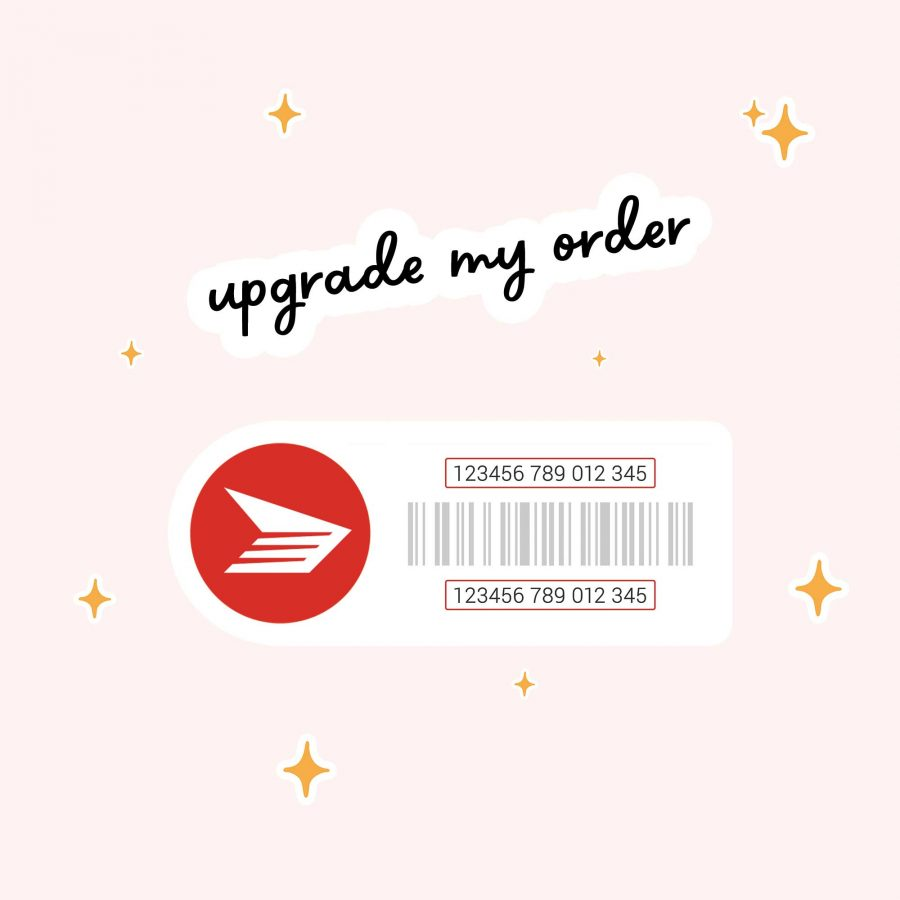 upgrade my order to Canada Post Tracking option